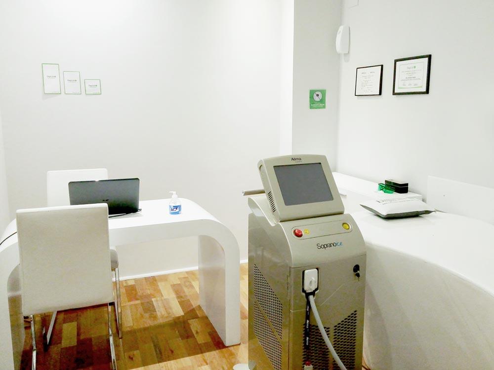 Centro de Depilación Definitiva en Villa del Parque