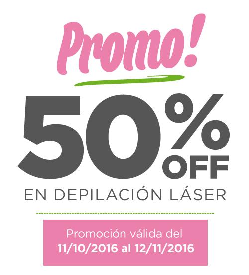 Promo 50% en depilación láser   DepiLife